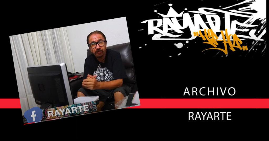 banner rayarte hip hop Mexico revista